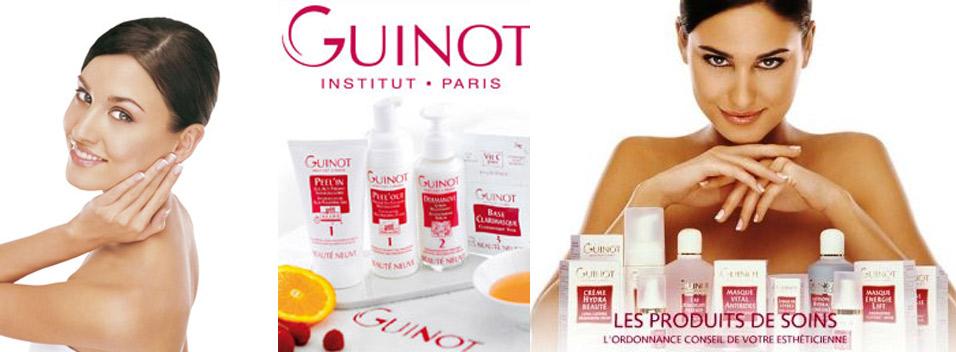 les produits Guinot